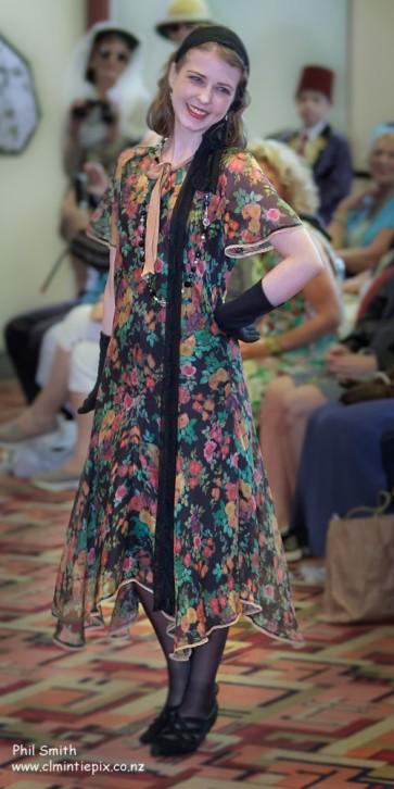 Award Winning Vionnet dress